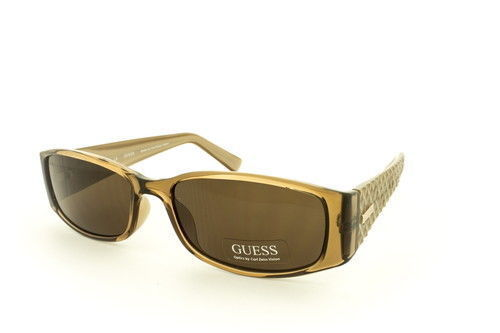 GUESS GU7259 BRN-1 55-16-135 Brown Tan Womens Sunglasses Carl Zeiss Vision Lens