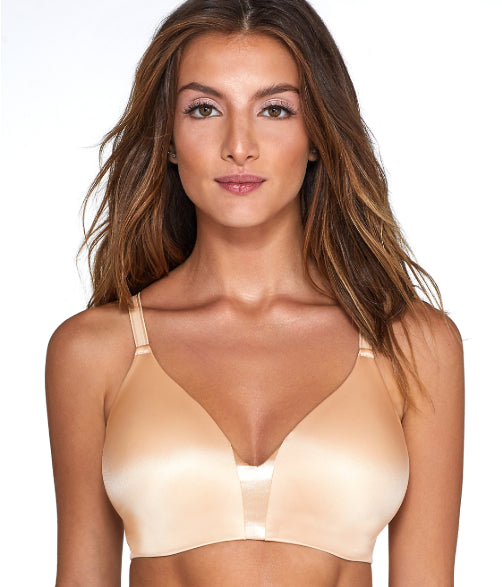 Bali Soft Taupe One Smooth U Wire-Free Bra, Size US 34DD