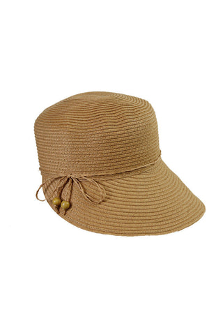 August Hat Company Women's Straw Classical Toyo Framer Hat