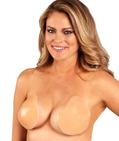 FASHION FORMS LIFT IT UP BACKLESS BRA, Nude, Size DDD