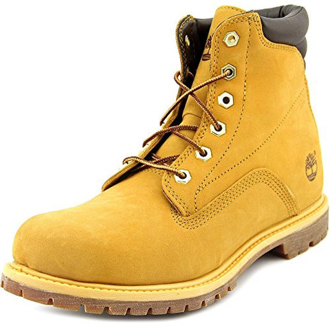 Timberland Watrvle 6in Women US 11 Tan Work Boot