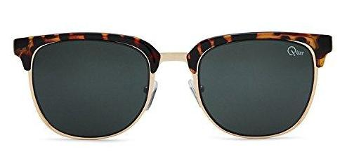 1df1941fad00d Quay Australia FLINT Men s Sunglasses Retro Accented Brow-Line ...