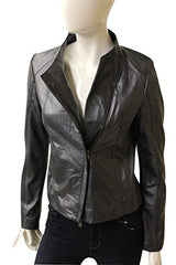 Ecru Clothing Ultimate Fitted Leather Jacket, Size S, 450