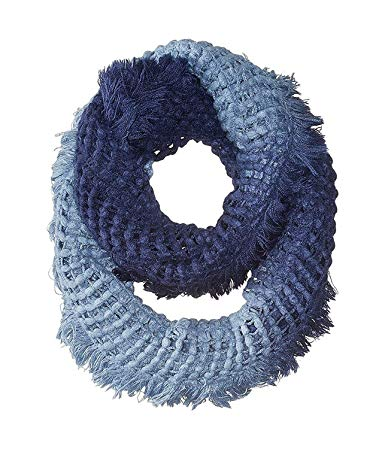 Steve Madden Women's Navy Made In Shade Infinity Scarf