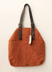 Alternative Women's Orange Tweed Handbag NWT