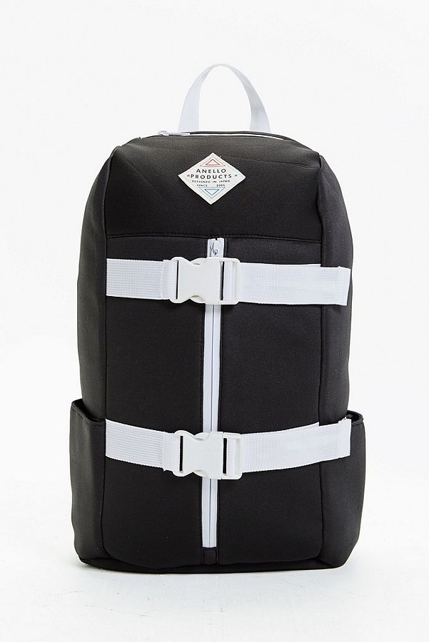 Anello AR K0201 Black Backpack with Buckles