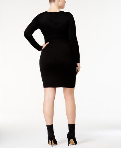 Say What?'s plus size sweater dress Trendy Plus Size Studded