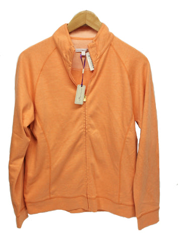 Peter Millar Women's Full Zip Stretch Performance Jacket - Orange