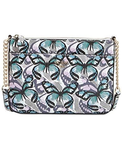 Guess Butterfly Flutter Top-Zip Small Crossbody