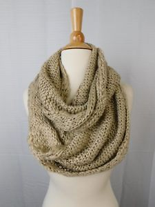BCBGeneration women's Thick and Thin Infinity Loop Scarf,