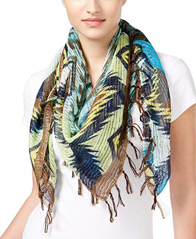 Collection Xiix Aztec Women's Square Scarf,Multi