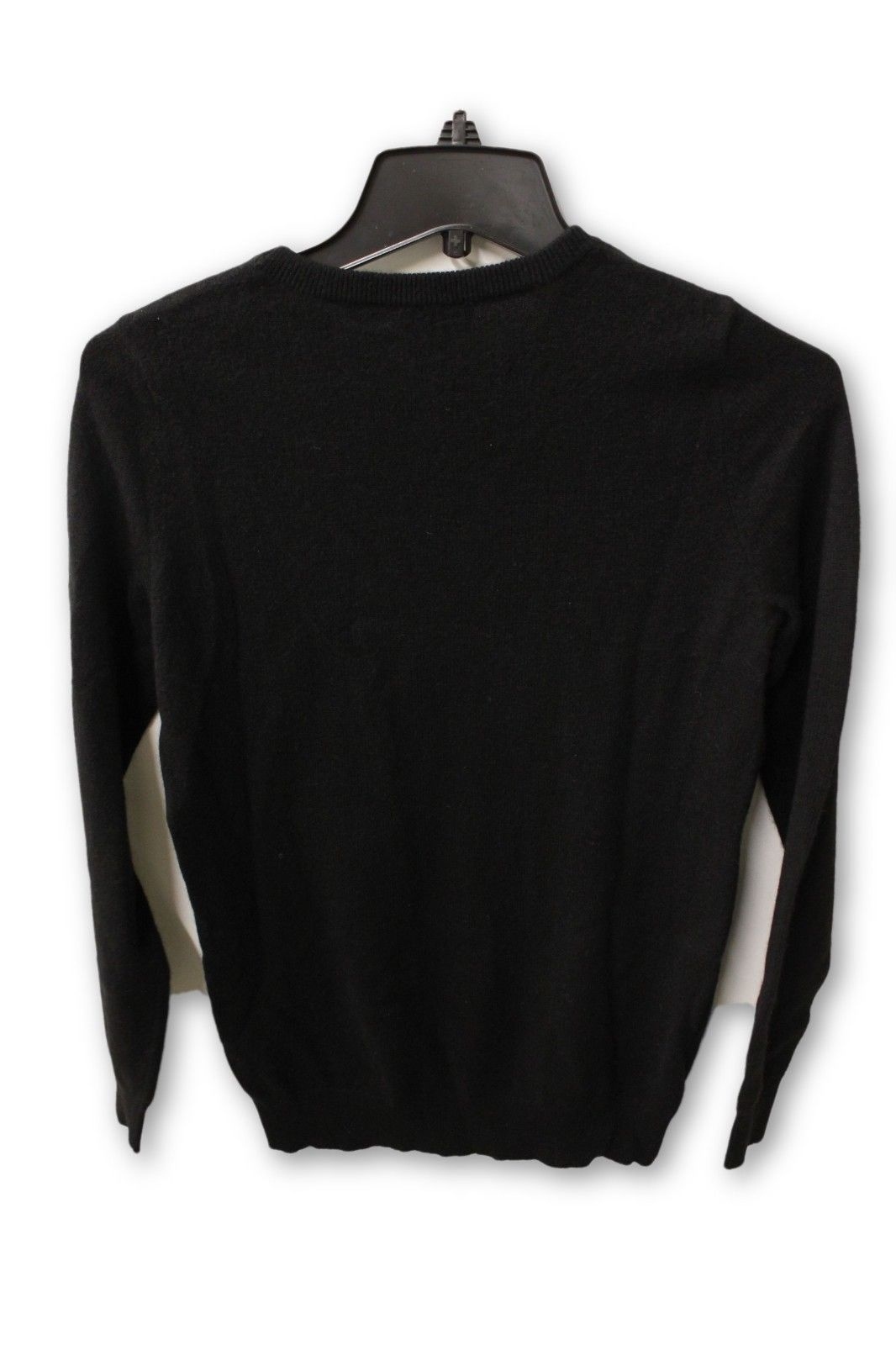 6ad65f0380 C by Bloomingdale's Women's Cashmere - Black Crew Neck Sweater S NWT –  Cheap Maggies