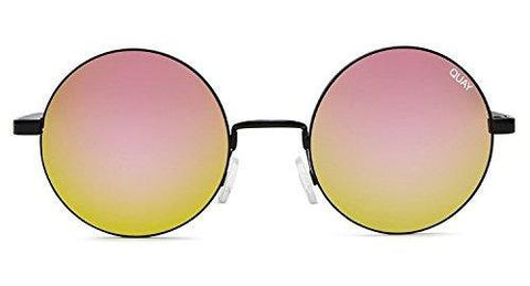 Quay Australia ELECTRIC DREAMS Women's Sunglasses Round Retro