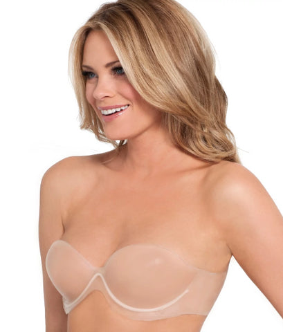Fashion Forms Nude Body Sculpting Backless Strapless Bra, Size DDD
