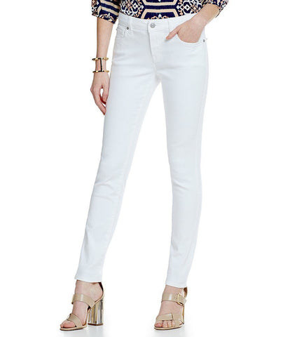 Cremieux Women's White Alice Skinny Pants
