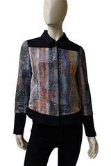 Ecru Clothing Woven Short Jacket, Size 4, 360