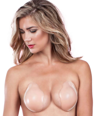 Fashion Forms Nude Silicone Skin Cleavage Enhancer, Size C