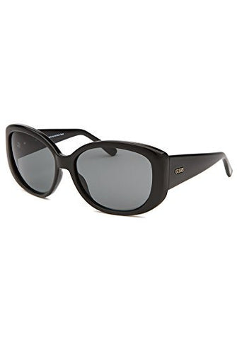 Guess GU7284-BKGLD-3 Women's Sunglasses, Black, Grey