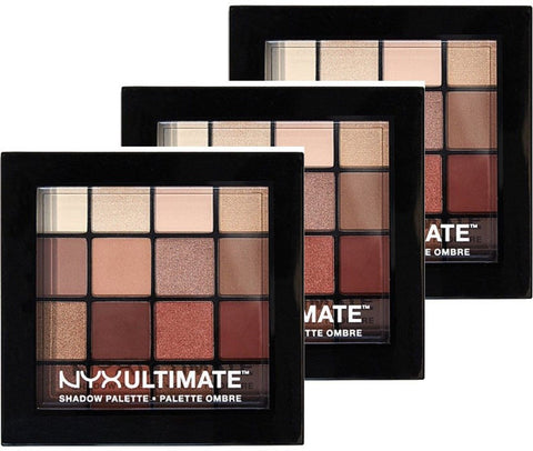 Nyx Cosmetics Warm Neutrals Ultimate Shadow Palette 3 Pack