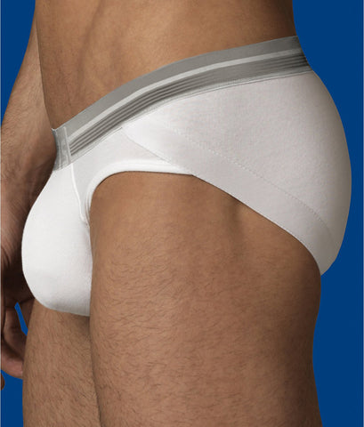 2(x)ist PURE WHITE Mens Shapewear Lift Brief, US Medium
