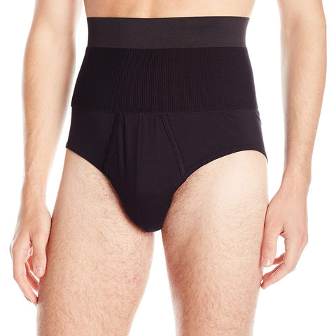 2(X)IST DEEP BLACK Form Moderate Control Brief, US Medium