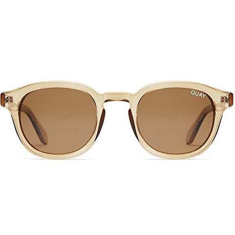 Quay Australia Walk On Sunglasses in Toffe/Brown