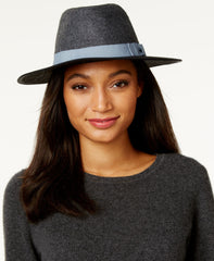 INC International Concepts Women's Colorblock Panama Hat