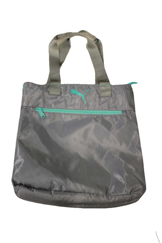 Puma Light Blue/Gray Shopper Fundamentals Tote