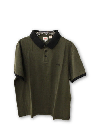 Levi's Men's Green Collar Shirt 2XL NWT
