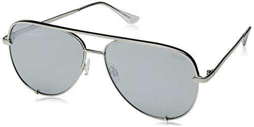 Quay Australia HIGH KEY Women's Sunglasses Classic Oversized Aviator
