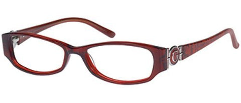 GUESS Eyeglasses GU 1653 Burgundy 52MM