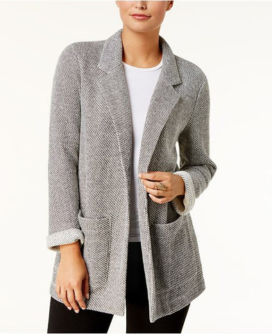 Style & Co Women's French Terry Blazer, Size M