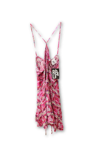 RP 4 LF Stores Pink Pattern Sundress S NWT