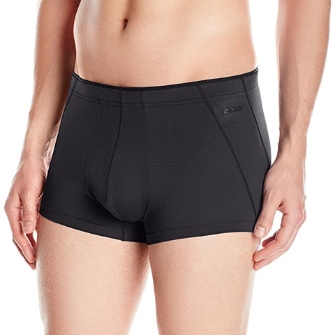 2(X)IST Men's Tech Micro Mesh Trunk Black, Small