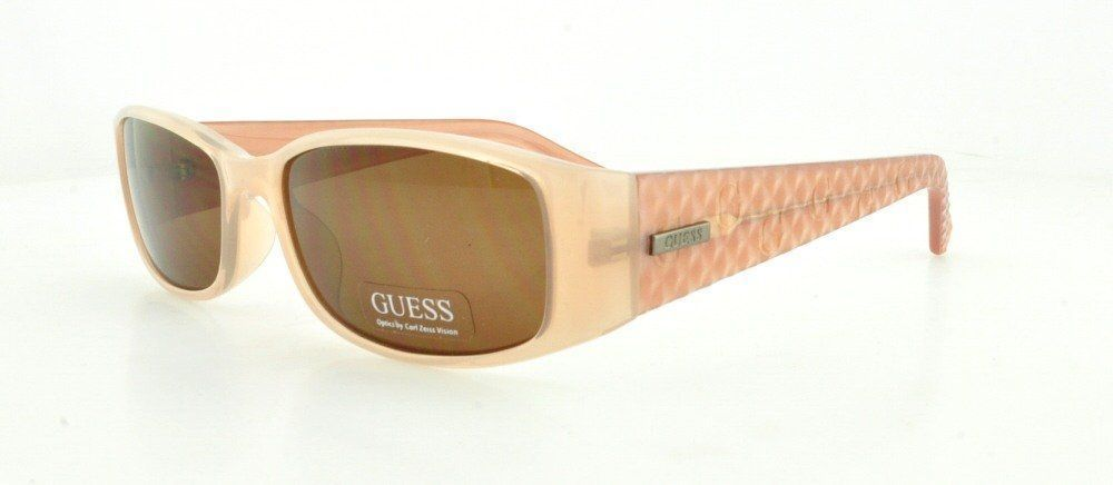 Guess sunglasses GU 7259 PE-1 Beige - Pink fuschia fuchsia Brown 55-16-135