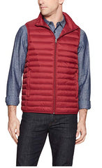 32 Degrees Men's Red Nano Light Packable Vest, Size XS NWOT