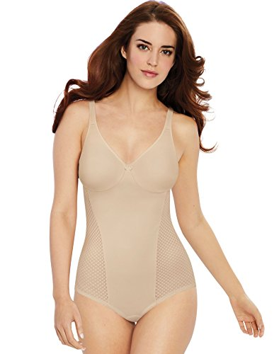Bali Women's Passion for Comfort Minimizer Bodysuit Soft Taupe 42C