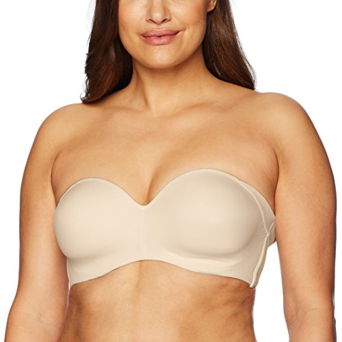 Bali Women's One Smooth U Side and Strapless Multiway Underwire Bra Nude 36B