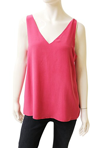 Ecru Clothing Lined Silk Tank, Size M, New $185