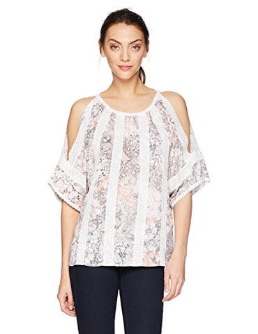 T Tahari Women's Cambria Blouse March