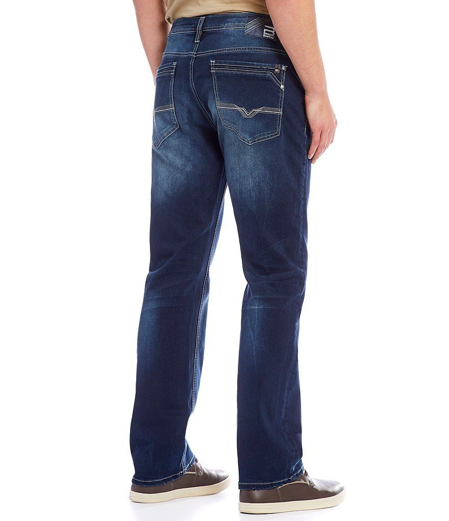 Buffalo David Bitton Men's Driven-X Relaxed Straight Fit Jeans, Size 40W x 32L