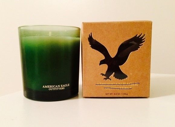 American Eagle Outfitters AEO Scented Candle 5.5 oz. Green NIB