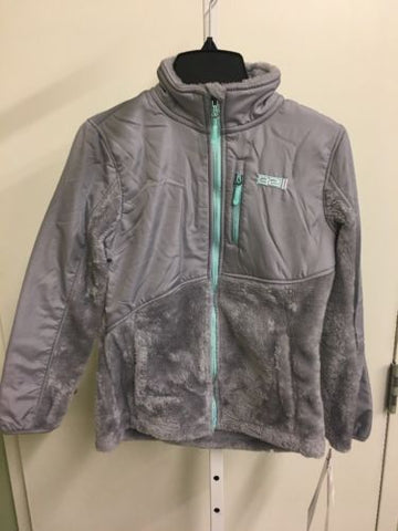 32 Degrees Women's Gray Fleece Jacket NWT