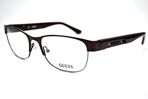 GUESS Eyeglasses GU 1759 Brown Satin 53MM