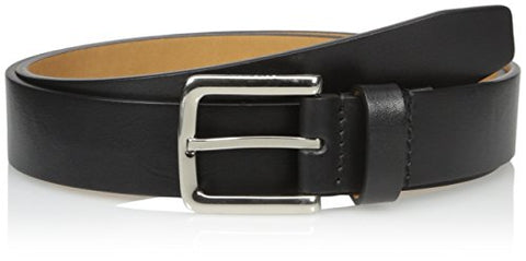 Cole Haan Men's Cole Haan Washington Grand 32mm Smooth Belt, black Polished Nickel, 42