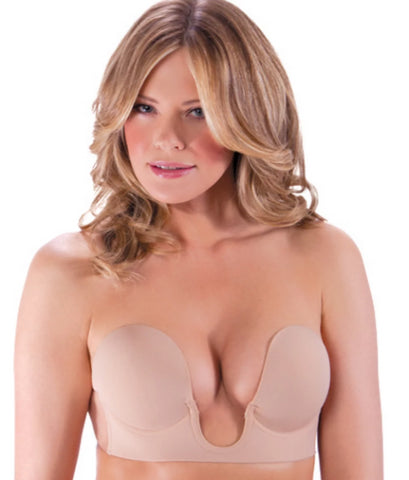 Fashion Forms Nude Backless Strapless U Plunge Bra, Size D
