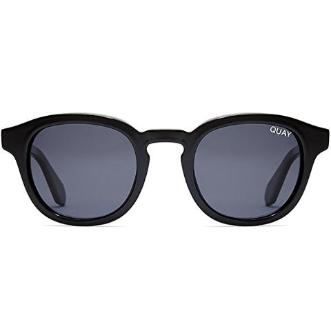 Quay Australia Walk On Sunglasses in Black/Smoke