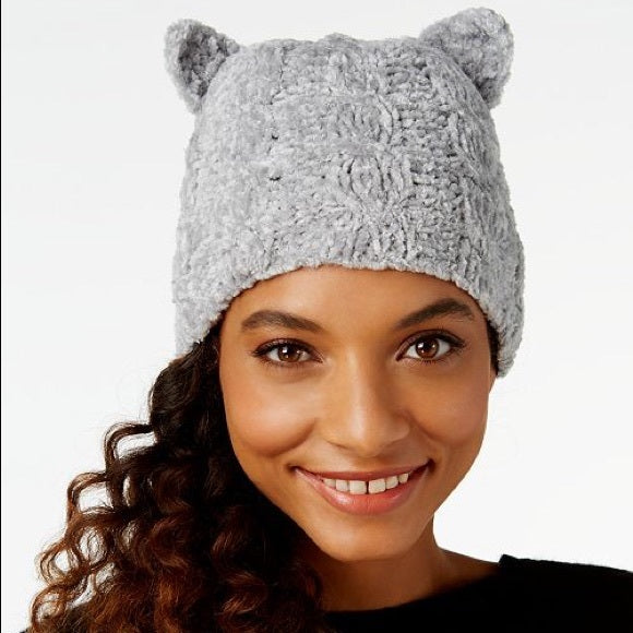 Bcbgeneration Women's Cat Ear Beanie, color: London Fog,