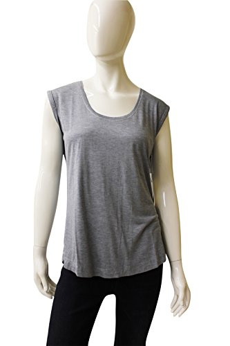 Ecru Clothing Soft Heather Sleeveless Top, Size M, 140