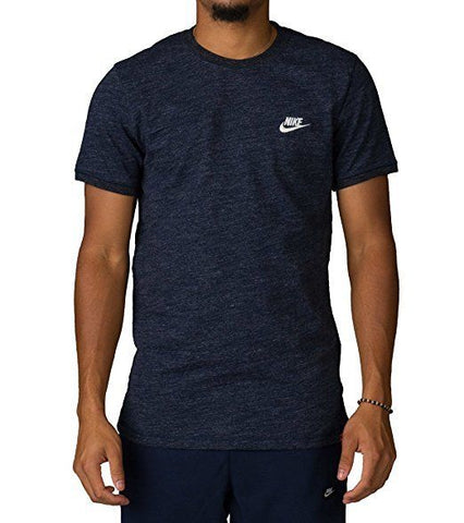 Nike Men's Legacy Knit Sport Casual Top, Blue, NWT, $45
